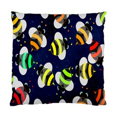Bees Cartoon Bee Pattern Standard Cushion Case (Two Sides)