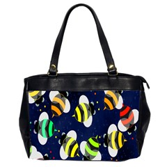 Bees Cartoon Bee Pattern Office Handbags (2 Sides)