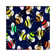 Bees Cartoon Bee Pattern Acrylic Tangram Puzzle (6  x 6 )