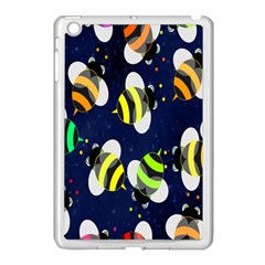Bees Cartoon Bee Pattern Apple Ipad Mini Case (white)