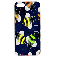 Bees Cartoon Bee Pattern Apple iPhone 5 Hardshell Case with Stand