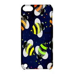 Bees Cartoon Bee Pattern Apple iPod Touch 5 Hardshell Case with Stand