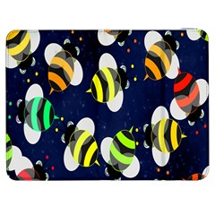 Bees Cartoon Bee Pattern Samsung Galaxy Tab 7  P1000 Flip Case