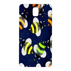 Bees Cartoon Bee Pattern Samsung Galaxy Note 3 N9005 Hardshell Back Case
