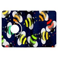 Bees Cartoon Bee Pattern Kindle Fire HDX Flip 360 Case