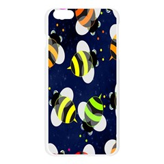 Bees Cartoon Bee Pattern Apple Seamless iPhone 6 Plus/6S Plus Case (Transparent)