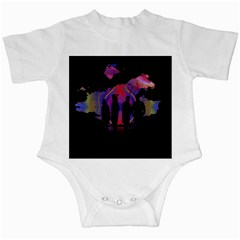 Abstract Surreal Sunset Infant Creepers