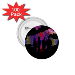 Abstract Surreal Sunset 1.75  Buttons (100 pack)