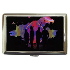 Abstract Surreal Sunset Cigarette Money Cases