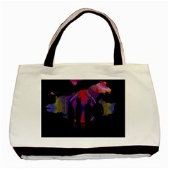Abstract Surreal Sunset Basic Tote Bag (Two Sides)