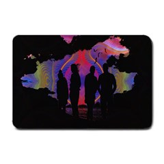 Abstract Surreal Sunset Small Doormat