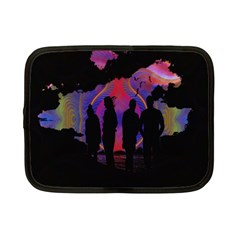 Abstract Surreal Sunset Netbook Case (Small)