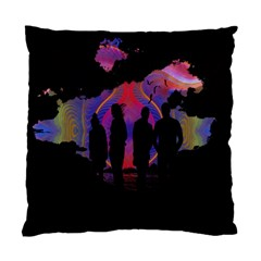 Abstract Surreal Sunset Standard Cushion Case (two Sides)