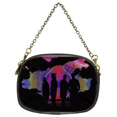 Abstract Surreal Sunset Chain Purses (Two Sides)