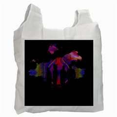 Abstract Surreal Sunset Recycle Bag (One Side)