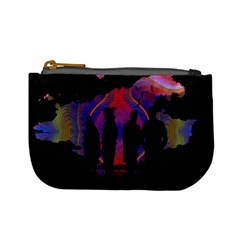 Abstract Surreal Sunset Mini Coin Purses