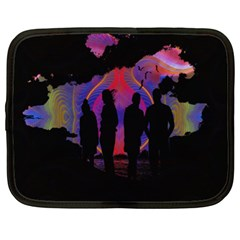 Abstract Surreal Sunset Netbook Case (XL)