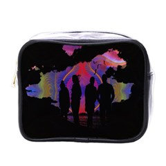 Abstract Surreal Sunset Mini Toiletries Bags