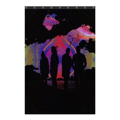 Abstract Surreal Sunset Shower Curtain 48  X 72  (small)