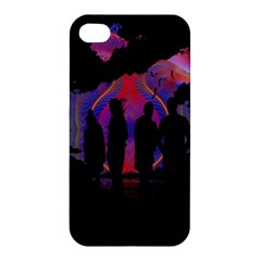 Abstract Surreal Sunset Apple iPhone 4/4S Premium Hardshell Case