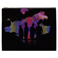 Abstract Surreal Sunset Cosmetic Bag (XXXL)
