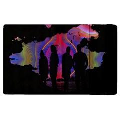 Abstract Surreal Sunset Apple Ipad 2 Flip Case