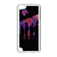 Abstract Surreal Sunset Apple iPod Touch 5 Case (White)