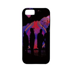 Abstract Surreal Sunset Apple iPhone 5 Classic Hardshell Case (PC+Silicone)