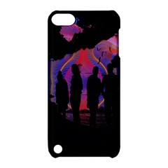 Abstract Surreal Sunset Apple iPod Touch 5 Hardshell Case with Stand