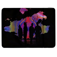 Abstract Surreal Sunset Samsung Galaxy Tab 7  P1000 Flip Case