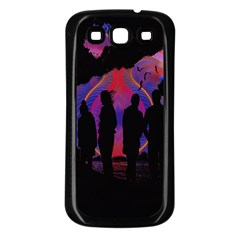 Abstract Surreal Sunset Samsung Galaxy S3 Back Case (black)