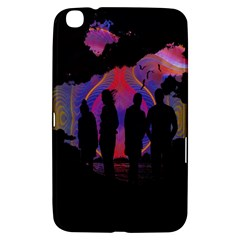 Abstract Surreal Sunset Samsung Galaxy Tab 3 (8 ) T3100 Hardshell Case