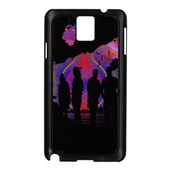 Abstract Surreal Sunset Samsung Galaxy Note 3 N9005 Case (Black)