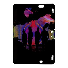 Abstract Surreal Sunset Kindle Fire HDX 8.9  Hardshell Case