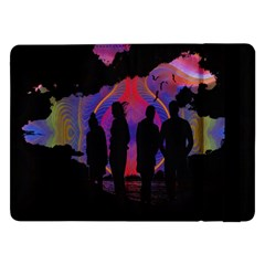 Abstract Surreal Sunset Samsung Galaxy Tab Pro 12 2  Flip Case