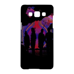 Abstract Surreal Sunset Samsung Galaxy A5 Hardshell Case