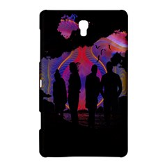 Abstract Surreal Sunset Samsung Galaxy Tab S (8.4 ) Hardshell Case