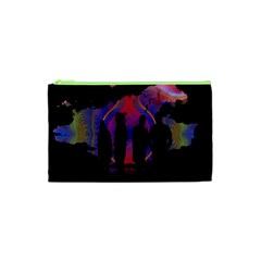 Abstract Surreal Sunset Cosmetic Bag (xs)