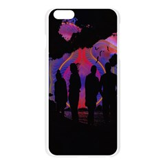 Abstract Surreal Sunset Apple Seamless iPhone 6 Plus/6S Plus Case (Transparent)