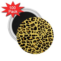 A Jaguar Fur Pattern 2 25  Magnets (100 Pack)