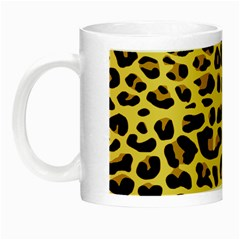 A Jaguar Fur Pattern Night Luminous Mugs