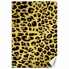 A Jaguar Fur Pattern Canvas 12  x 18