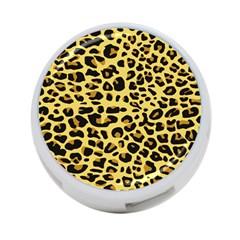 A Jaguar Fur Pattern 4-Port USB Hub (One Side)