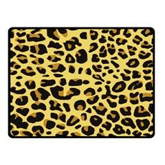 A Jaguar Fur Pattern Fleece Blanket (Small)