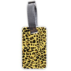 A Jaguar Fur Pattern Luggage Tags (two Sides)