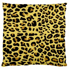 A Jaguar Fur Pattern Large Cushion Case (two Sides)