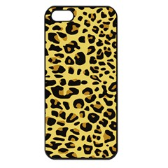A Jaguar Fur Pattern Apple Iphone 5 Seamless Case (black)