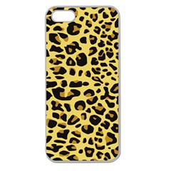 A Jaguar Fur Pattern Apple Seamless iPhone 5 Case (Clear)
