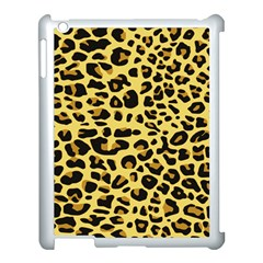 A Jaguar Fur Pattern Apple iPad 3/4 Case (White)