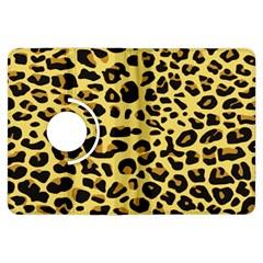 A Jaguar Fur Pattern Kindle Fire Hdx Flip 360 Case